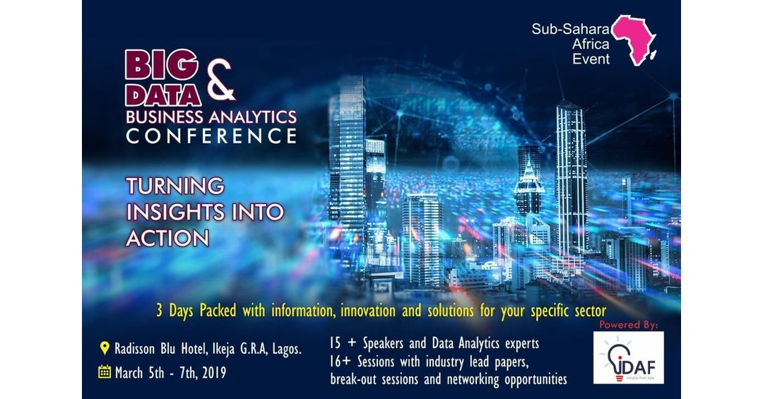 iDAF Announces 'DABConference': Data Analytics and Business