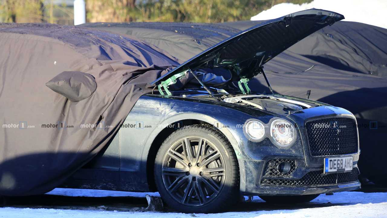 2020 Bentley Flying Spur Spy Photo