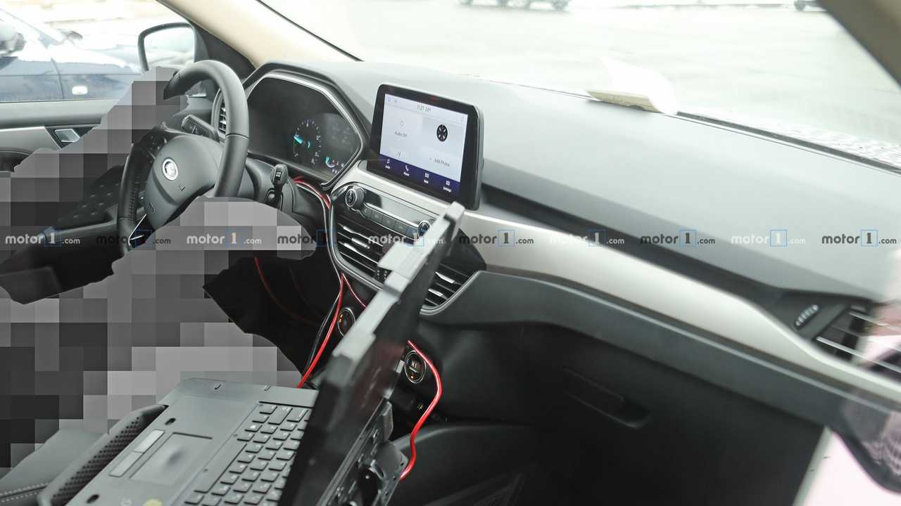 2020 Ford Escape Interior Spy Photo