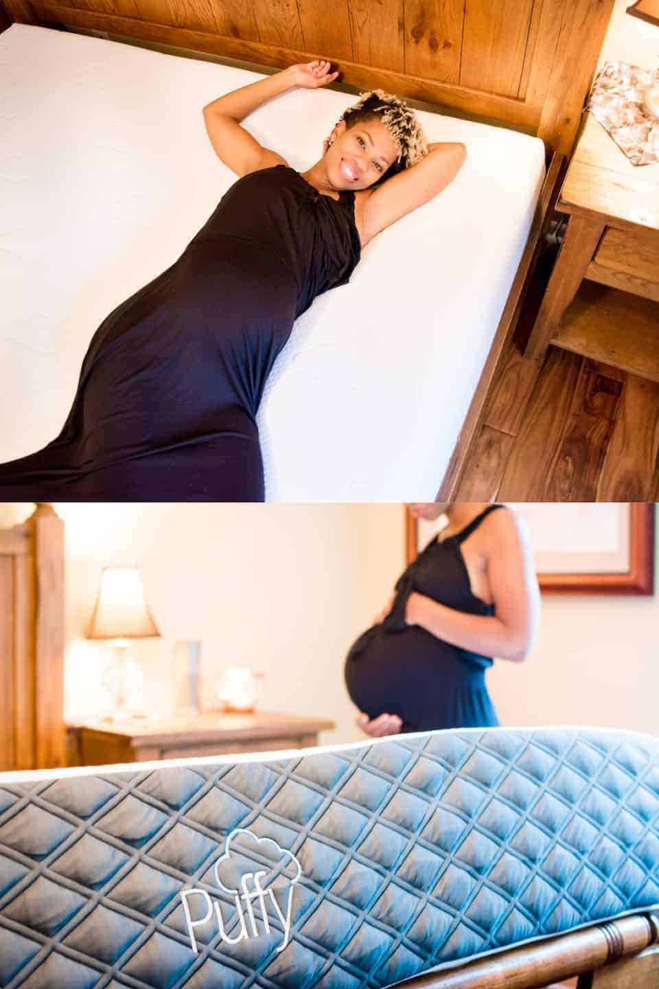 Puffy – best mattress for pregnancy 2 pic collage copy