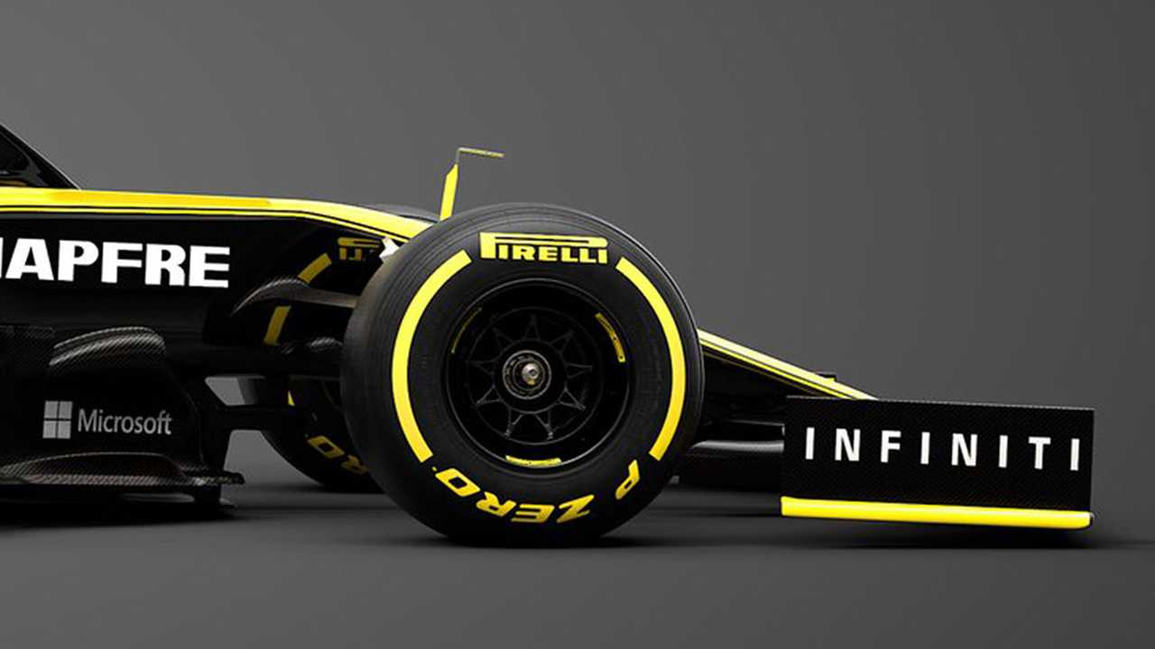 Renault RS19 Formula 1 car reveal photos