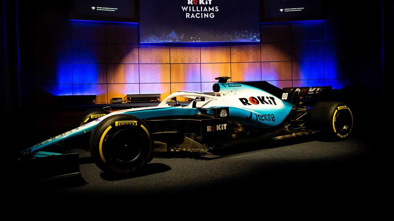 Williams FW42 2019 livery presentation