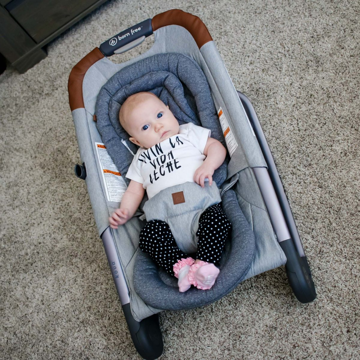 The Best Baby Bouncer: Born Free™ Kova™