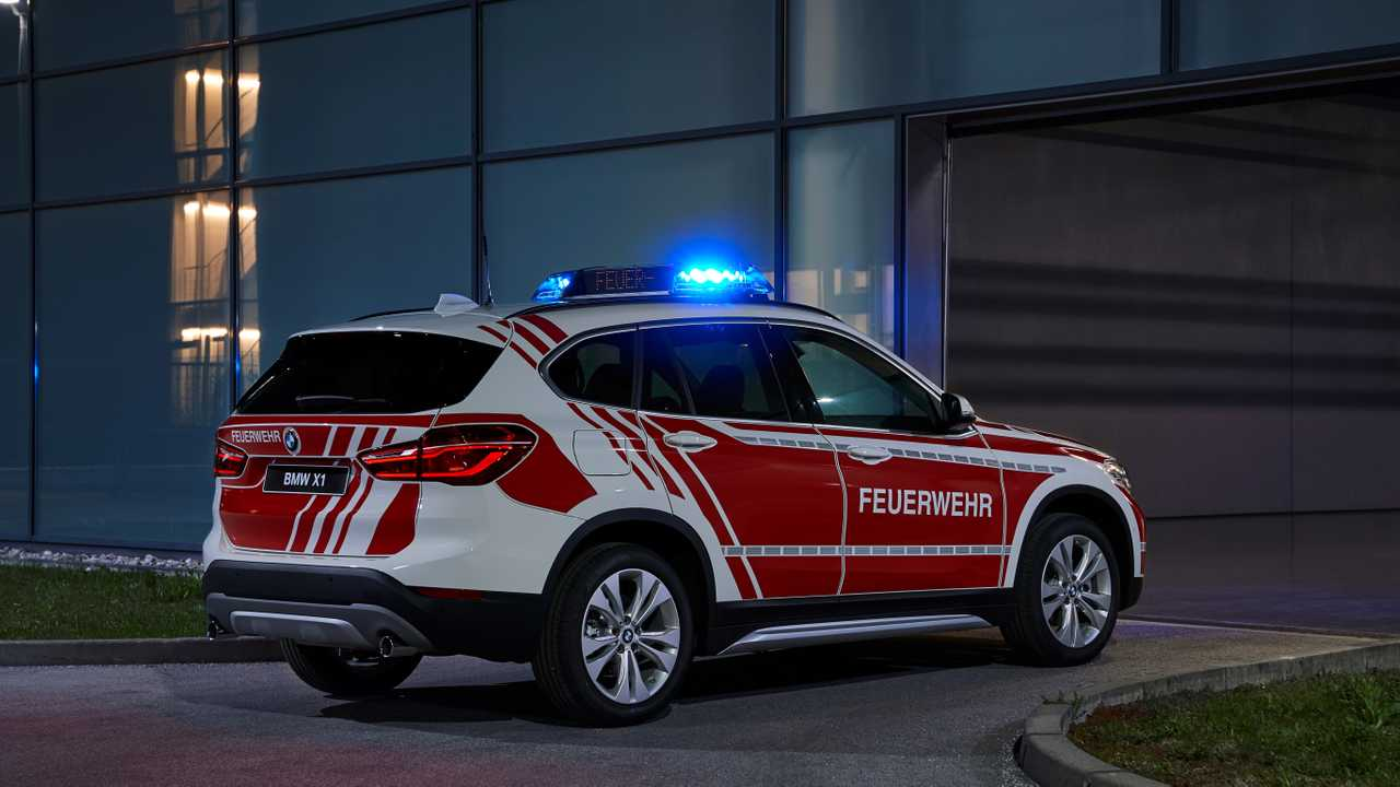 BMW X1 for operations command for RETTmobil 2019