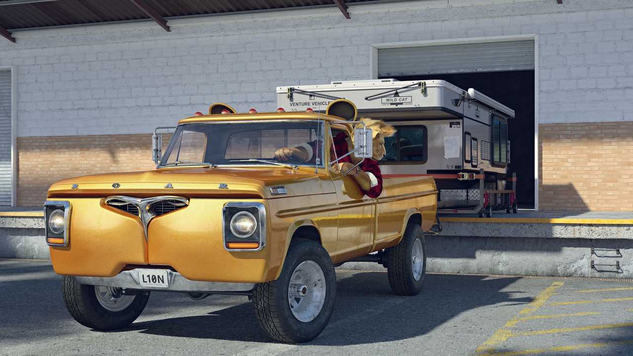 1967 Ford F-250 for lion