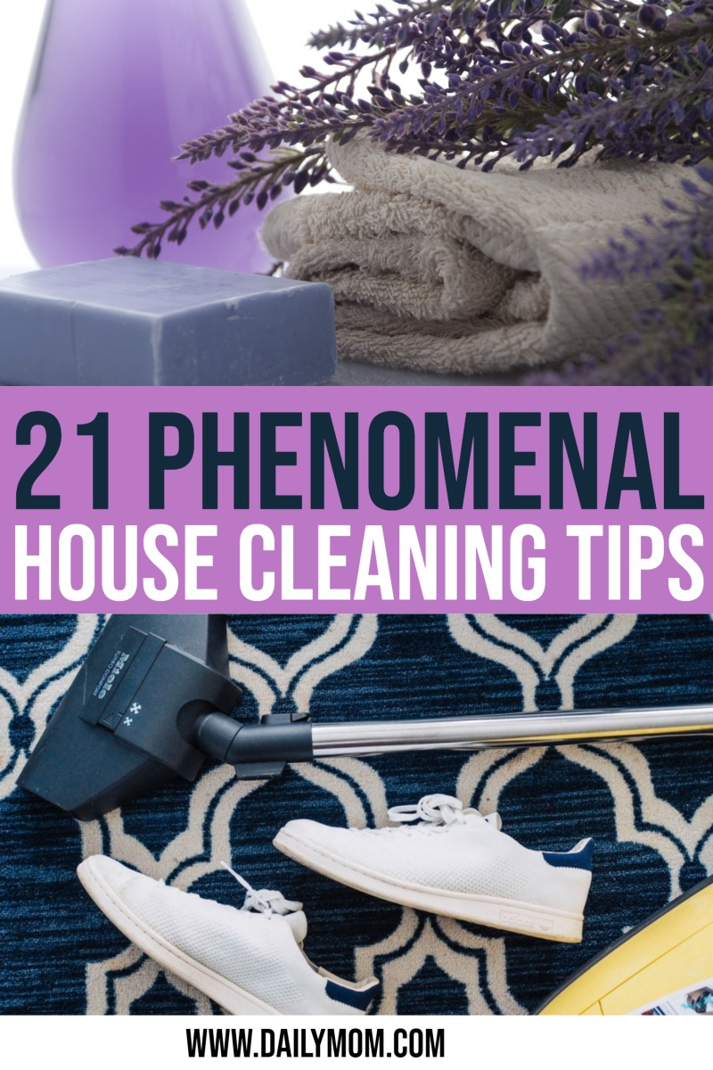 Daily Mom Parent Portal House Cleaning Tips